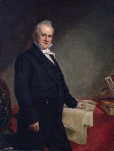 Secretary of State and future president James Buchanan