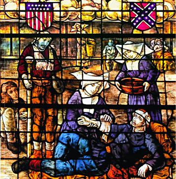 Sisters of Mercy nursing at Gettysburg--St. Francis Xavier Catholic Church