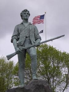 """The """"Minute Man"""" Statue (Lexington, MA)"""
