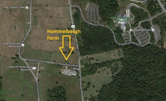 Hummelbaugh Farm Map