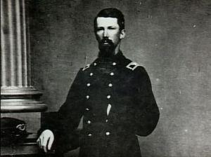 Colonel Harrison Jeffords, 4th Michigan Infantry.