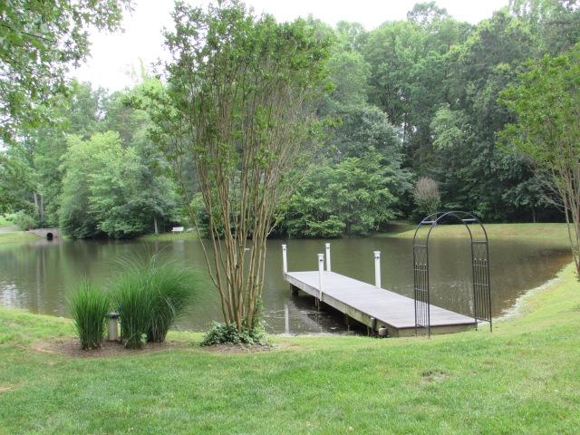 The pond at Stevenson Ridge.