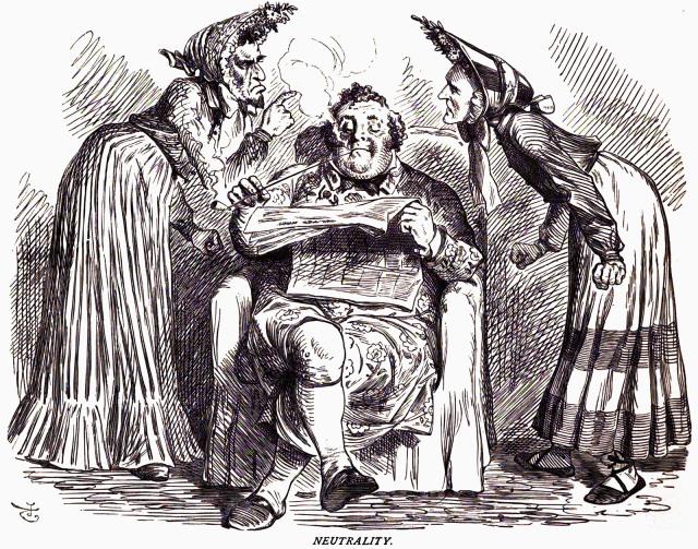 Mr. Punch's Victorian era