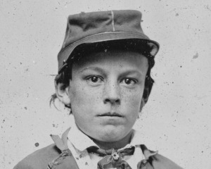 Unidentified Confederate Drummer Boy