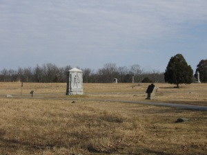 4th Michigan Monument in the Wheatfield at Gettysburg.
