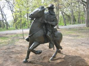 Longstreet statue
