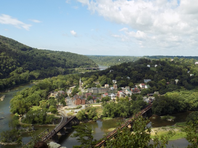 Harpers Ferry from Maryland Heights Overlook