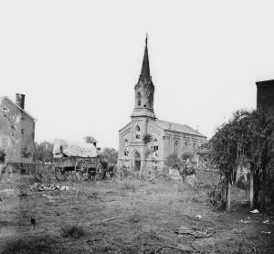 Damaged Baptist Church