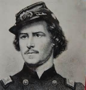 Elmer Ellsworth, not yet a colonel
