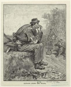 """(A.C. Redwood, """"Rations from the Stalk."""" Courtesy, New York Public Library, Digital Collections)"""