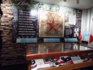 Part of the Civil War Cryptologic Exhibit