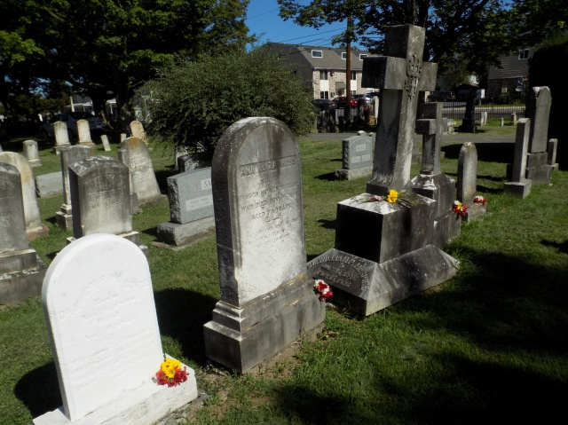 McGuire Family Graves, Mount Hebron Cemetery, Winchester, Virginia (Photo by author)