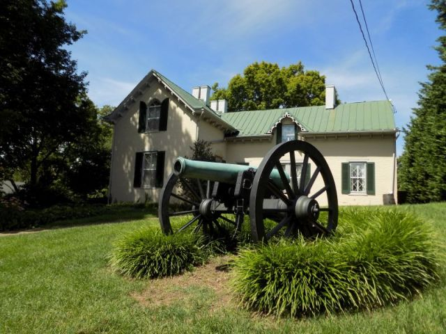 "Cannon at ""Stonewall"" Jackson Headquarters Museum (Winchester, Virginia; Photography by Sarah Kay Bierle, 2016.)"