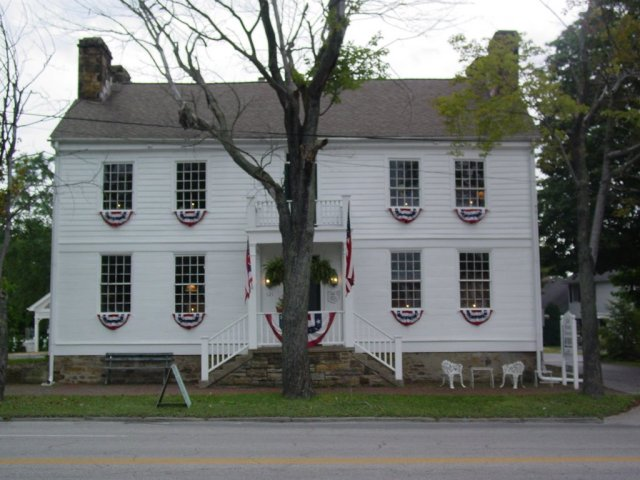 A modern day image of the Sparrow House, now known locally as Old Stone Tavern. (Image Courtesy Youngstown Daily Photo.)