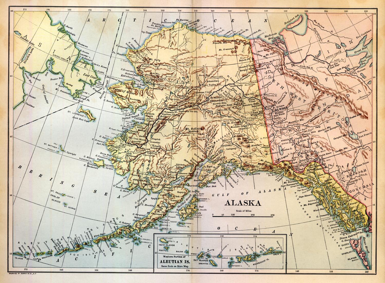 Sewards Folly At Emerging Civil War - Us map after sewards folly
