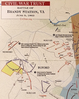 Brandy Station Trust Map March 2017