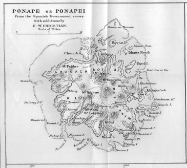 Phonpei map 1895