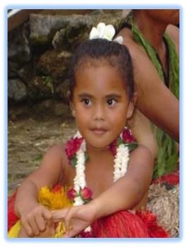 Pohnpei girl