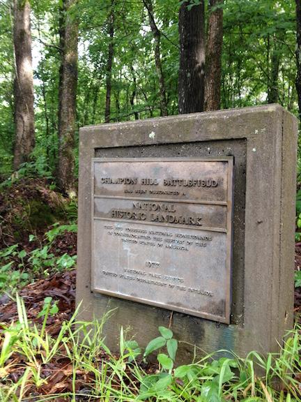 Champion Hill Landmark Monument