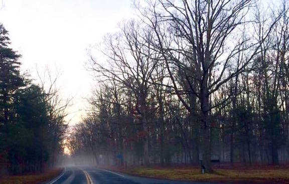 Lafleur Wilderness-foggy morning