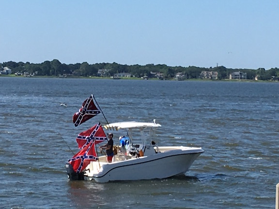 Boatload of Flaggers