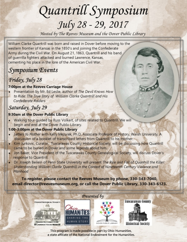 Quantrill Symposium flier
