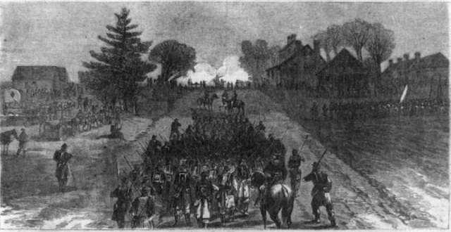 II Corps Robinson's Tavern