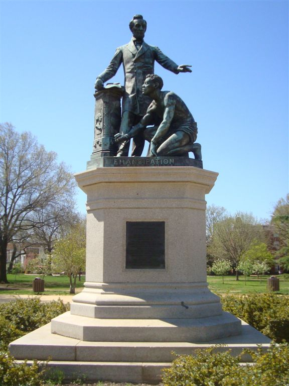 emancipation memorial